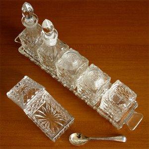 画像3: グラスのクルエットセット