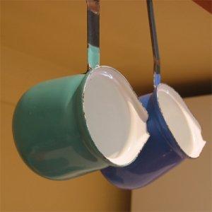 画像1: 小さなエナメルのコーヒーパン (1個)