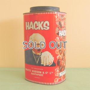 画像1: 古いキャンディー缶 HACKS缶
